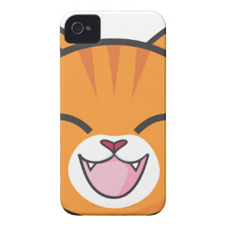 Capa Para iPhone Gato de gato malhado alaranjado