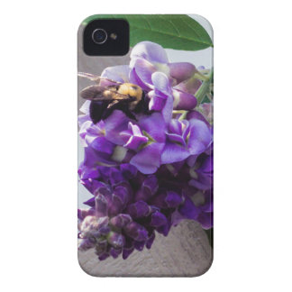 Capa Para iPhone Glicínias & abelha