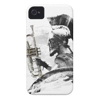 Capa Para iPhone Guerreiro da trombeta