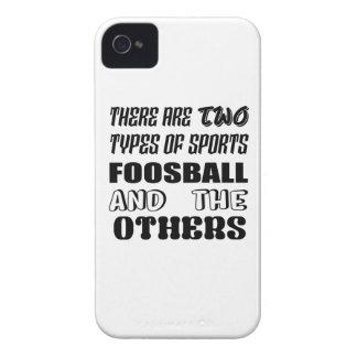 Capa Para iPhone Há dois tipos de esportes Foosball e outro
