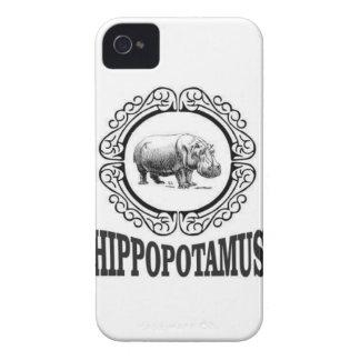 Capa Para iPhone Hipopótamo quadro