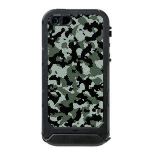 Capa À Prova D água Para iPhone SE 5 5s Teste padrão verde a06e10f9a21
