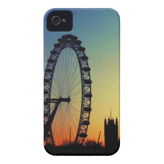 Capa Para iPhone London Eye