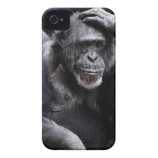 Capa Para iPhone Macaco preto