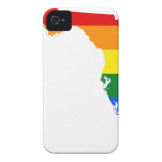 Capa Para iPhone Mapa da bandeira de Florida LGBT
