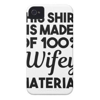 Capa Para iPhone Material de Wifey
