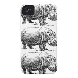 Capa Para iPhone ouro do hippopotamus