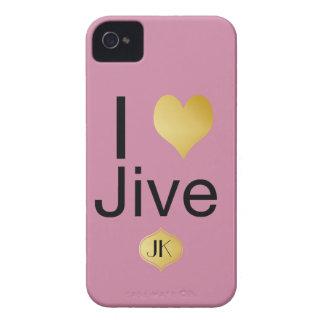 Capa Para iPhone Playfully o coração elegante de I Jive
