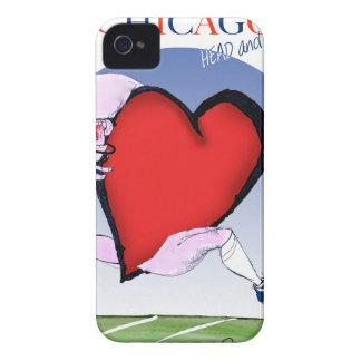 Capa Para iPhone Principais de Chicago e coração, fernandes tony