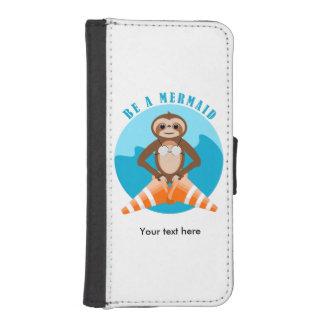 Capa Para iPhone SE/5/5s A preguiça engraçada seja uma sereia