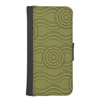 Capa Para iPhone SE/5/5s Arbusto aborígene da arte