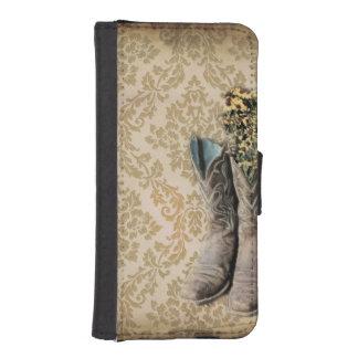 Capa Para iPhone SE/5/5s Botas de vaqueiro do país ocidental do wildflower