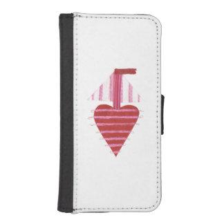 Capa Para iPhone SE/5/5s Caixa da carteira de IPhone 5/5s do barco de