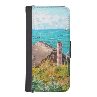 Capa Para iPhone SE/5/5s Claude Monet a cabine em belas artes do