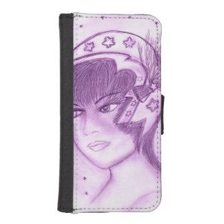 Capa Para iPhone SE/5/5s Flapper estrelado - roxo