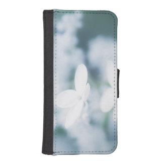 Capa Para iPhone SE/5/5s Flores brancas bonitas