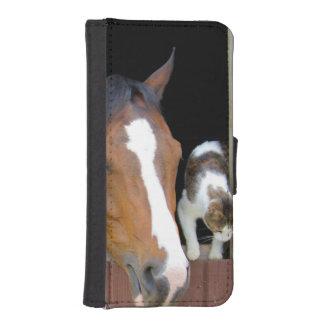 Capa Para iPhone SE/5/5s Gato e cavalo - rancho do cavalo - amantes do