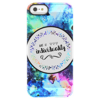 Capa Para iPhone SE/5/5s Permafrost® A arte é individualidade