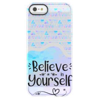 Capa Para iPhone SE/5/5s Permafrost® Acredite em o senhor mesmo
