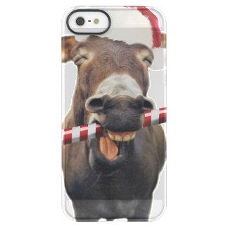 Capa Para iPhone SE/5/5s Permafrost® Asno do Natal - asno do papai noel - papai noel do