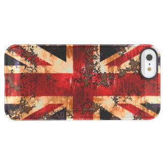 Capa Para iPhone SE/5/5s Permafrost® Bandeira patriótica oxidada de Reino Unido