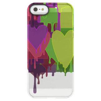 Capa Para iPhone SE/5/5s Permafrost® Blocos da cor que derretem corações