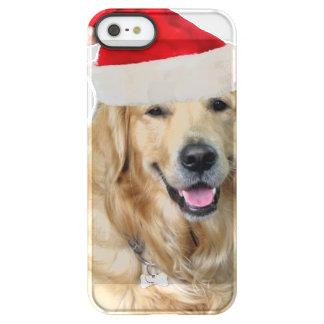Capa Para iPhone SE/5/5s Permafrost® Cão-animal de estimação do cão-papai noel de claus