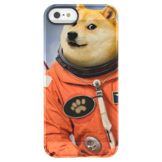 Capa Para iPhone SE/5/5s Permafrost® cão do astronauta - doge - shibe - memes do doge