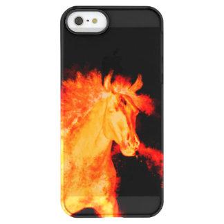 Capa Para iPhone SE/5/5s Permafrost® coleção do cavalo. fogo