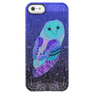 Capa Para iPhone SE/5/5s Permafrost® Coruja de Swirly