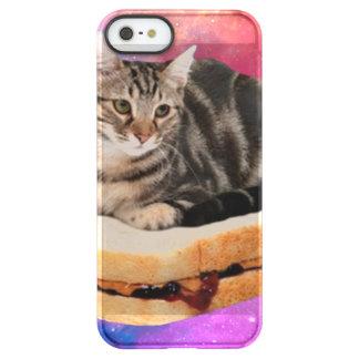 Capa Para iPhone SE/5/5s Permafrost® gato do pão - gato do espaço - gatos no espaço