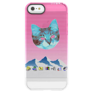 Capa Para iPhone SE/5/5s Permafrost® Gato legal de Vaporwave Windows