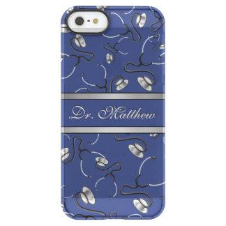 Capa Para iPhone SE/5/5s Permafrost® Médico, enfermeira, medique estetoscópios