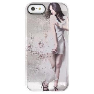 Capa Para iPhone SE/5/5s Permafrost® Menina no caso bonito do costume do iPhone do