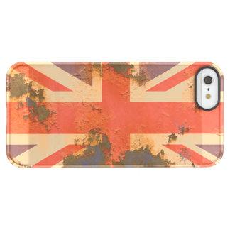 Capa Para iPhone SE/5/5s Permafrost® O vintage oxidou bandeira de Reino Unido