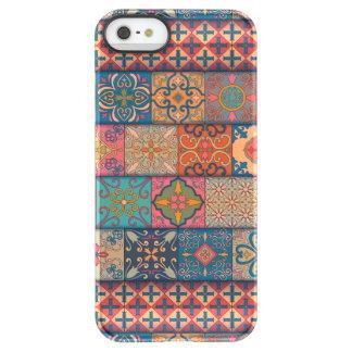 Capa Para iPhone SE/5/5s Permafrost® Ornamento de talavera do mosaico do vintage