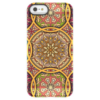 Capa Para iPhone SE/5/5s Permafrost® Retalhos do vintage com elementos florais da