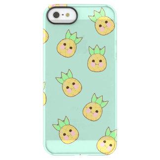 Capa Para iPhone SE/5/5s Permafrost® Teste padrão do abacaxi de Chubbi (textless)