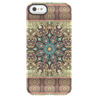 Capa Para iPhone SE/5/5s Permafrost® Teste padrão floral étnico abstrato colorido da