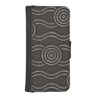 Capa Para iPhone SE/5/5s Tempestade aborígene da arte
