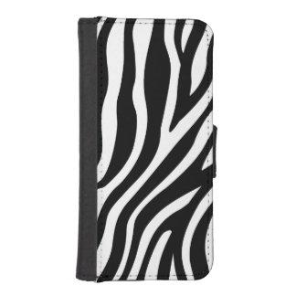Capa Para iPhone SE/5/5s Teste padrão preto e branco das listras do