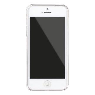 Capa Para iPhone SE/5/5s Transparente A preguiça Sassy