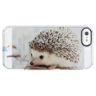 Capa Para iPhone SE/5/5s Transparente Animal bonito do ouriço do bebê