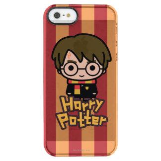 Capa Para iPhone SE/5/5s Transparente Arte do personagem de desenho animado de Harry