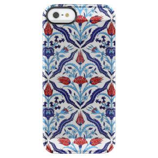 Capa Para iPhone SE/5/5s Transparente Azulejos de Iznik