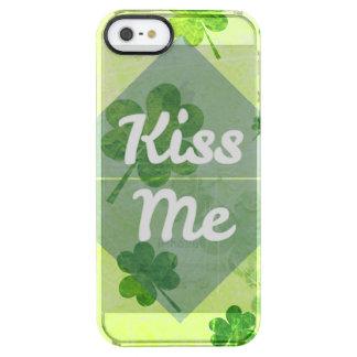 Capa Para iPhone SE/5/5s Transparente Beije-me trevo
