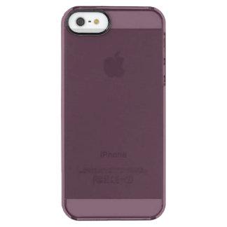 Capa Para iPhone SE/5/5s Transparente Beringela