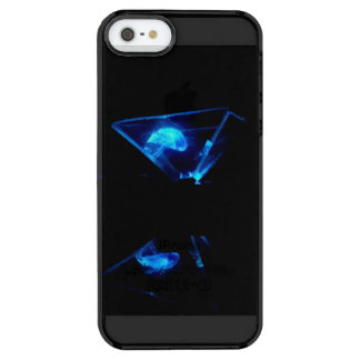 Capa Para iPhone SE/5/5s Transparente Caso de Iphone 5/5s do holograma de Jellywish