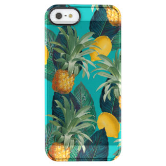Capa Para iPhone SE/5/5s Transparente cerceta do pineaple e dos limões