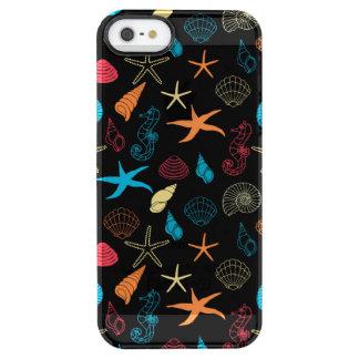 Capa Para iPhone SE/5/5s Transparente Criaturas coloridas do mar